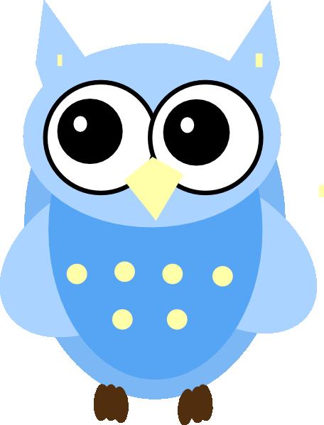 Blue Baby Owl Clip Art at Clker.com.