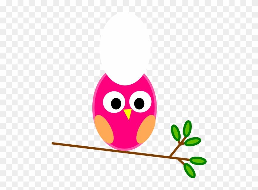 Cute Baby Owls Clip Art.