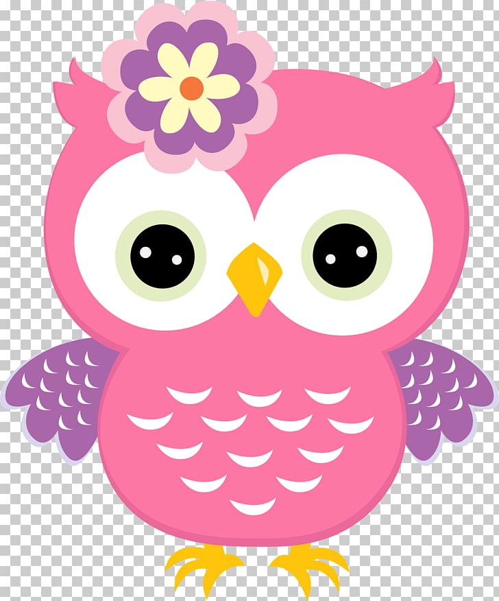 Owl Babies Baby Owls Bird , holi , pink owl art PNG clipart.