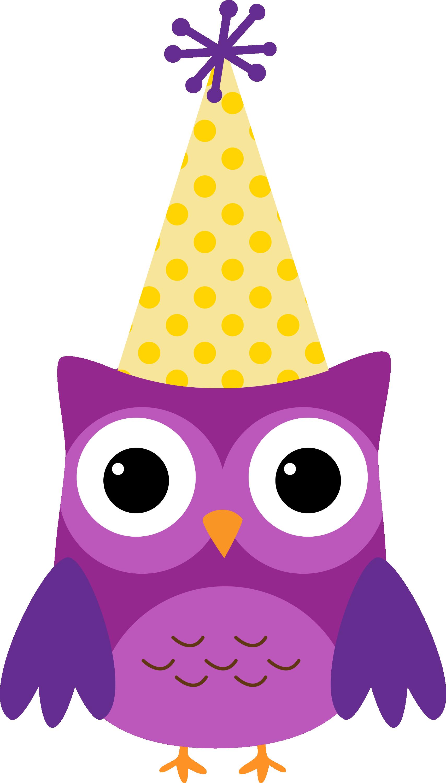 Owl birthday clipart 1 » Clipart Station.