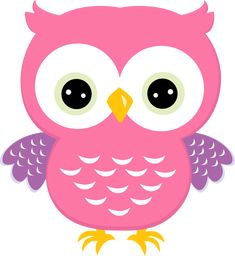 Pink owl clipart 1 » Clipart Station.