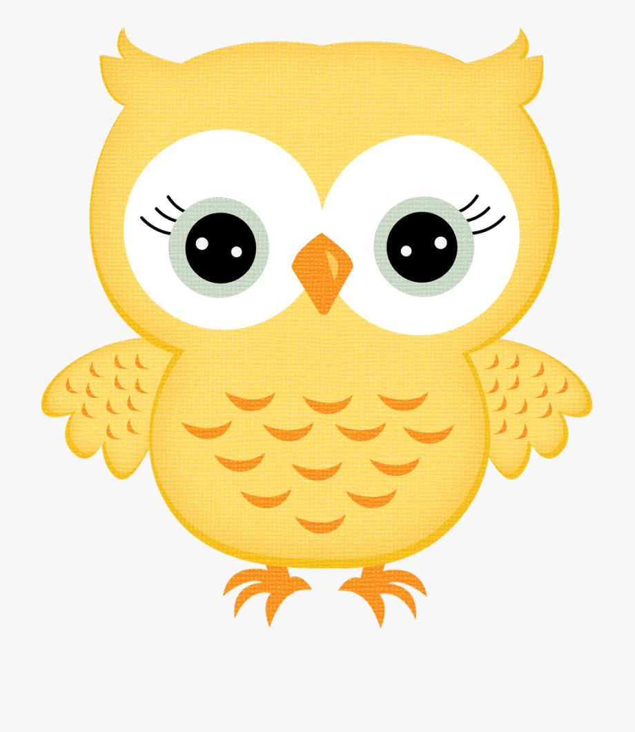 Yellow Owl Clipart, Cliparts & Cartoons.