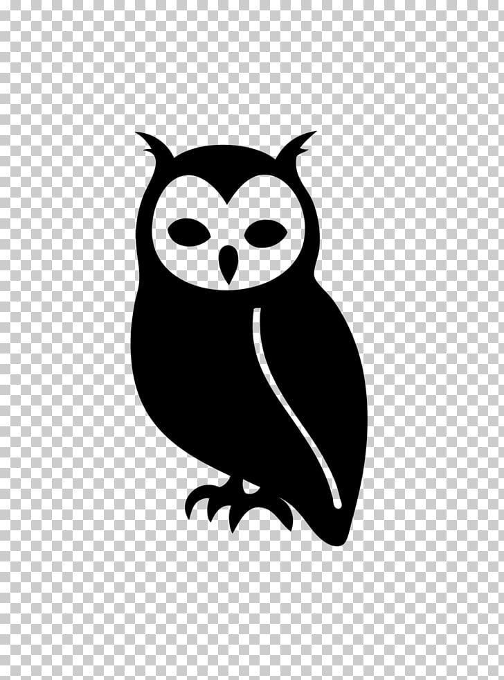 Owl Silhouette , owl PNG clipart.