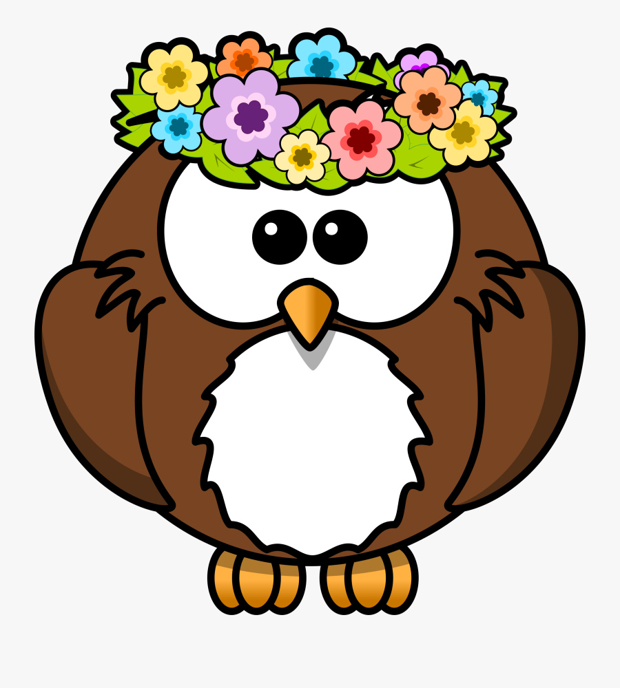 Owl With Garland.
