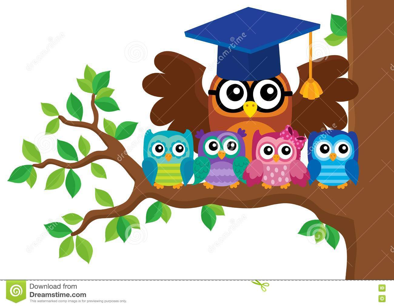Teacher Owl Clipart.
