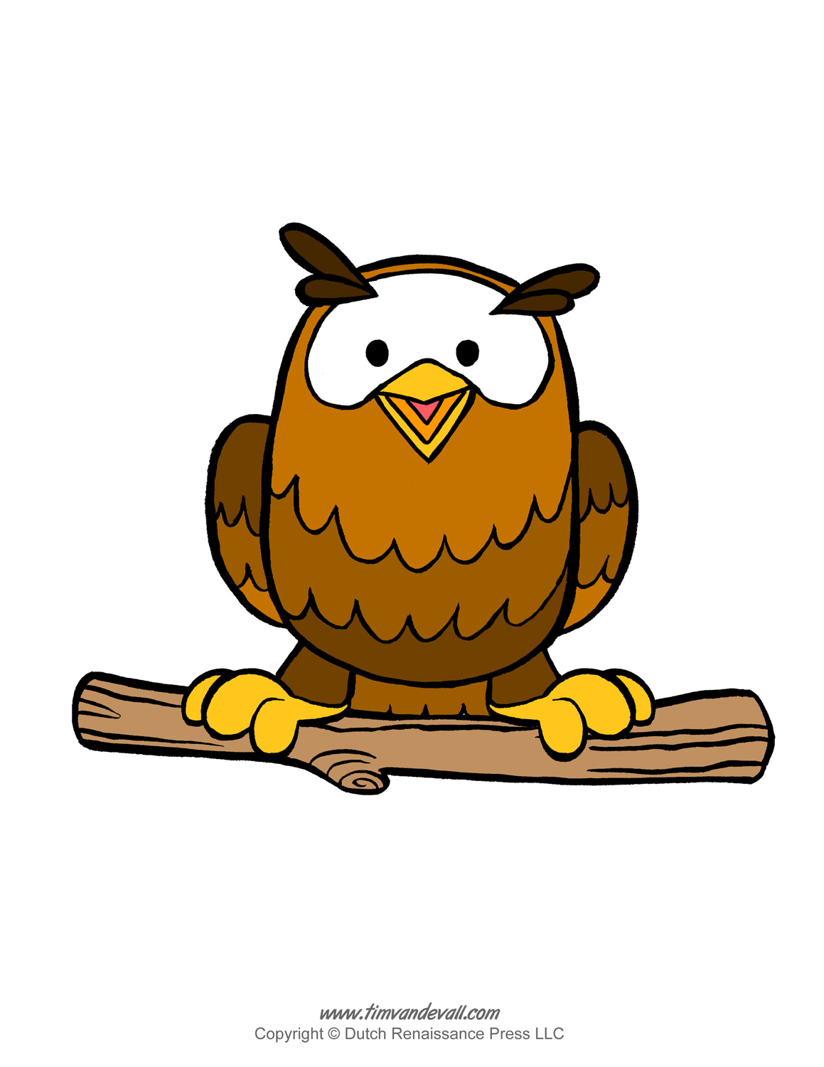 owl clipart template Clipground