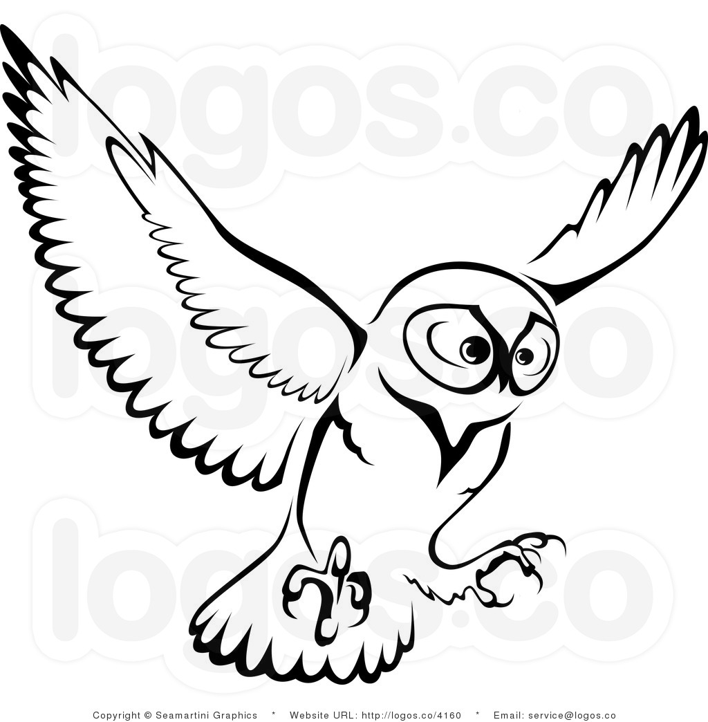 Owls clipart flying, Owls flying Transparent FREE for.