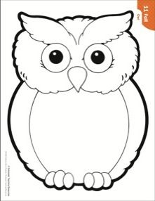 Owl clipart black and white 1 » Clipart Station.