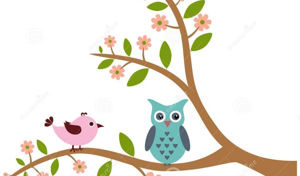 Owl in tree clipart 10 » Clipart Station.
