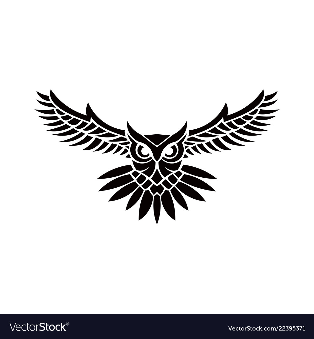 Owl logo.