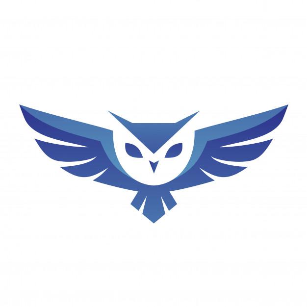 Owl logo vector Vector.