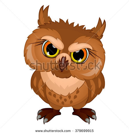 Vector Illustration Owl Stock Vector 384026746.