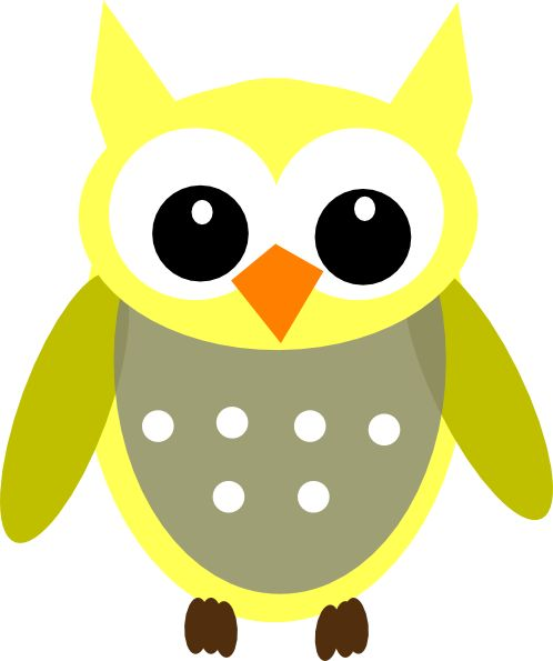 For the plaastic wear at the girls birthday party. cartoon owl.