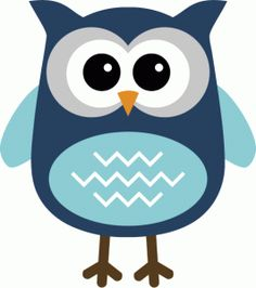 Green Owl Clip Art.