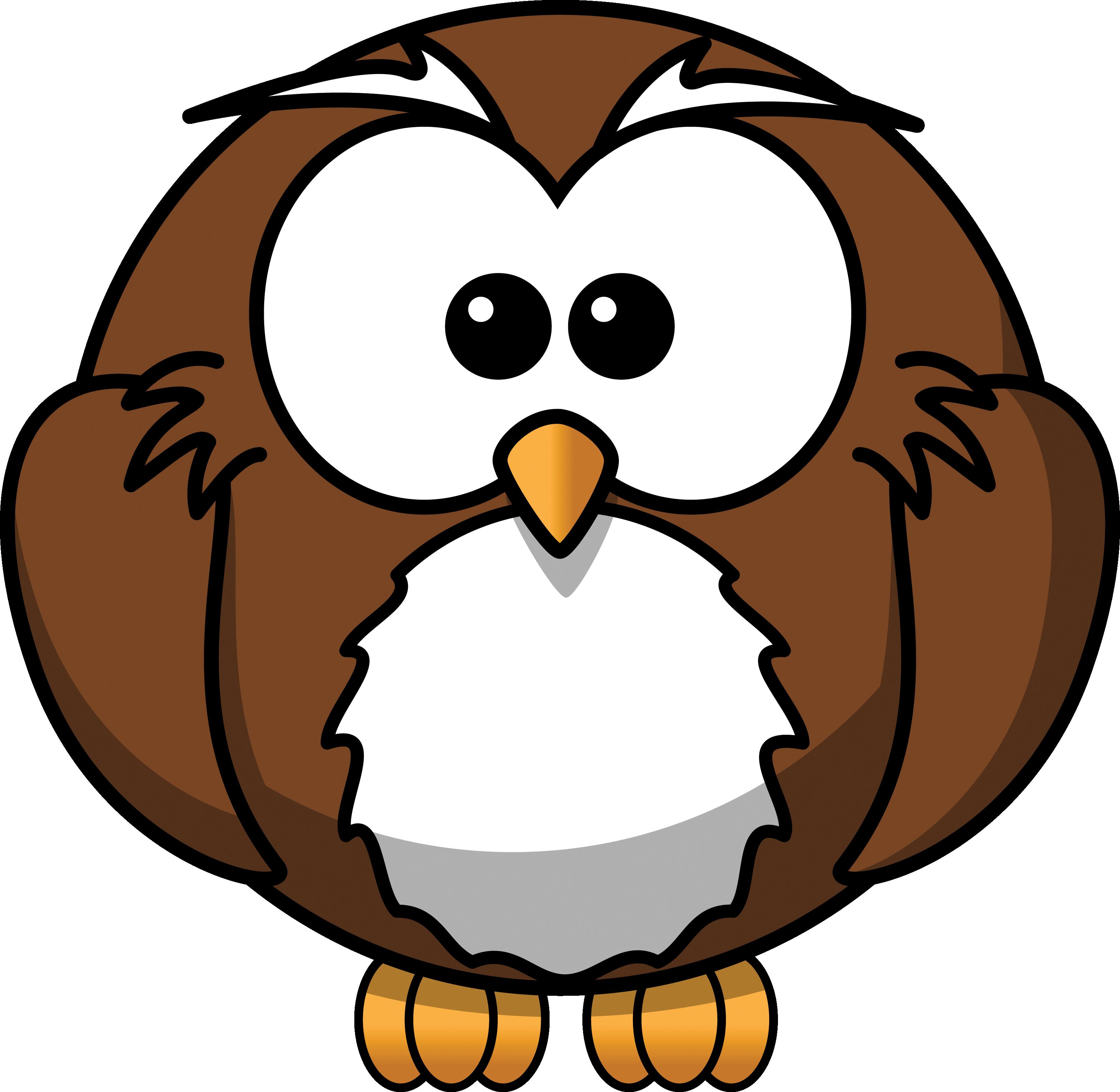 Cute Owl Mascot.