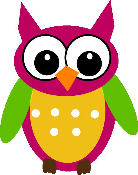 Owl Math Clip Art.