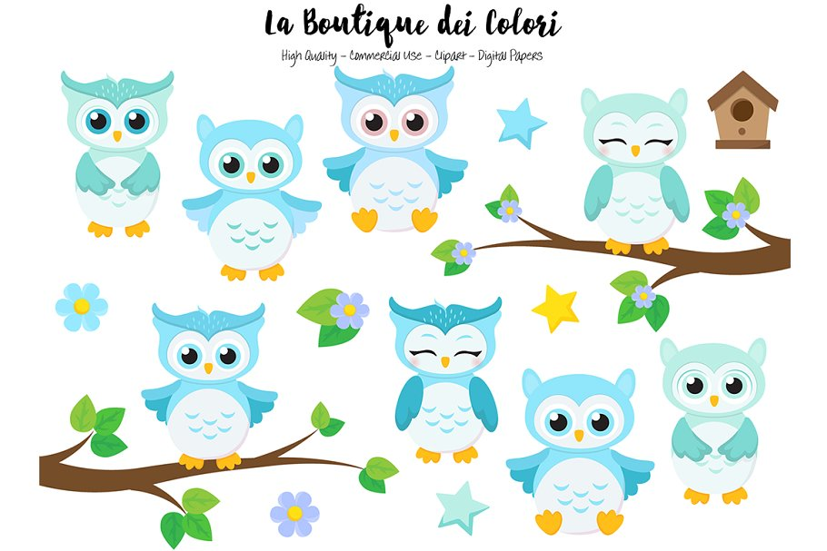 owl pictures clipart #1