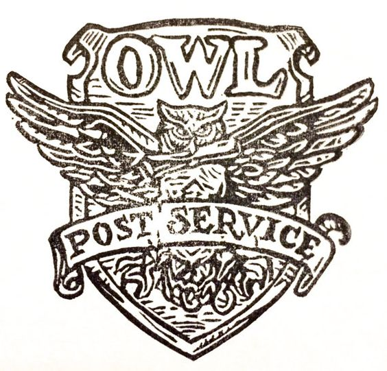 Owl post clipart.