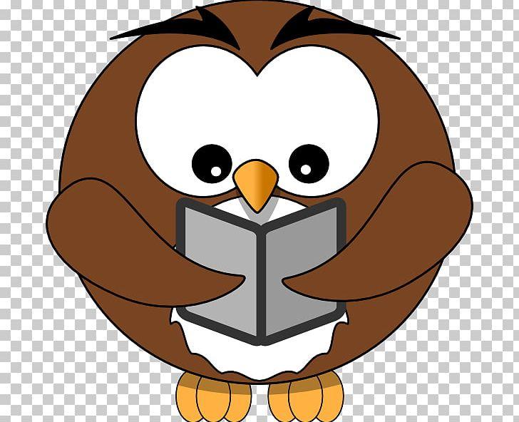 Owl Reading Book PNG, Clipart, Beak, Bird, Book, Document.