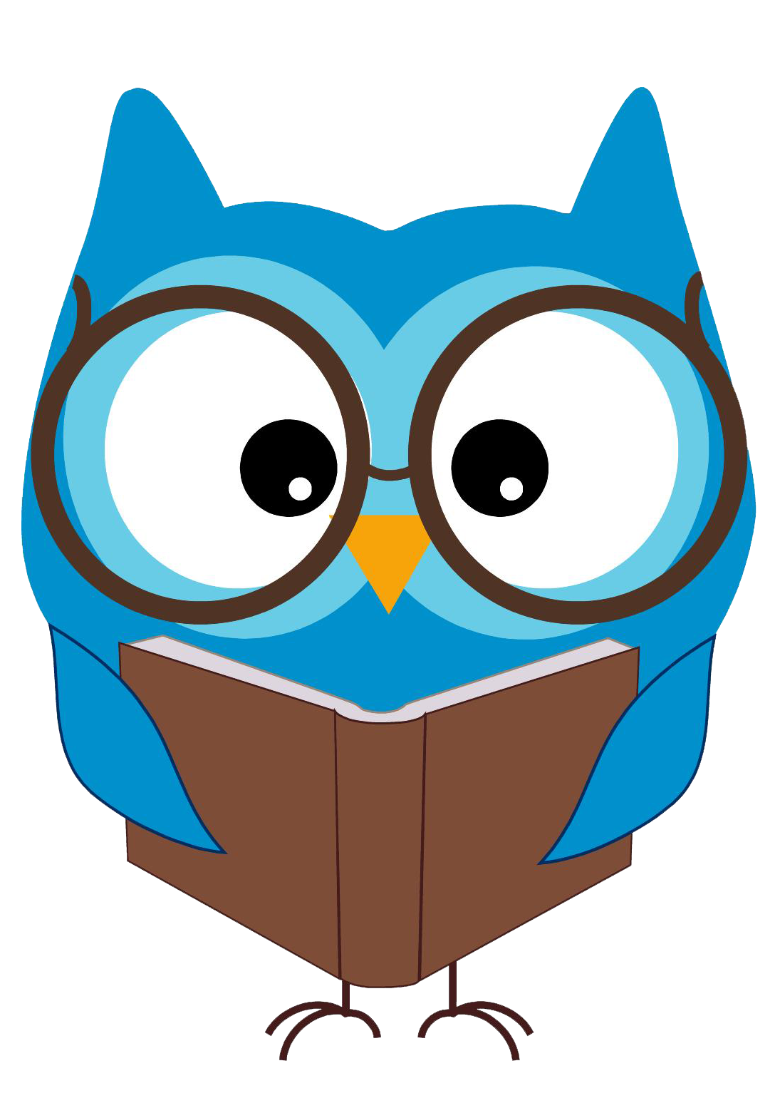 Best Owl Reading Clipart #21042.