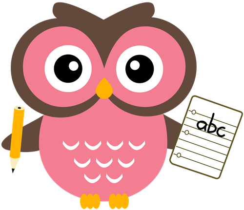 Back To School Owl Clipart Supplies Clip Art.
