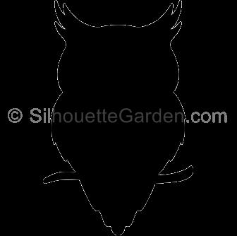 Owl Silhouette.