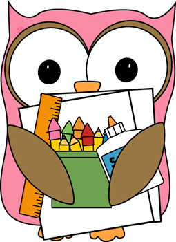 Cute owl teacher clipart.