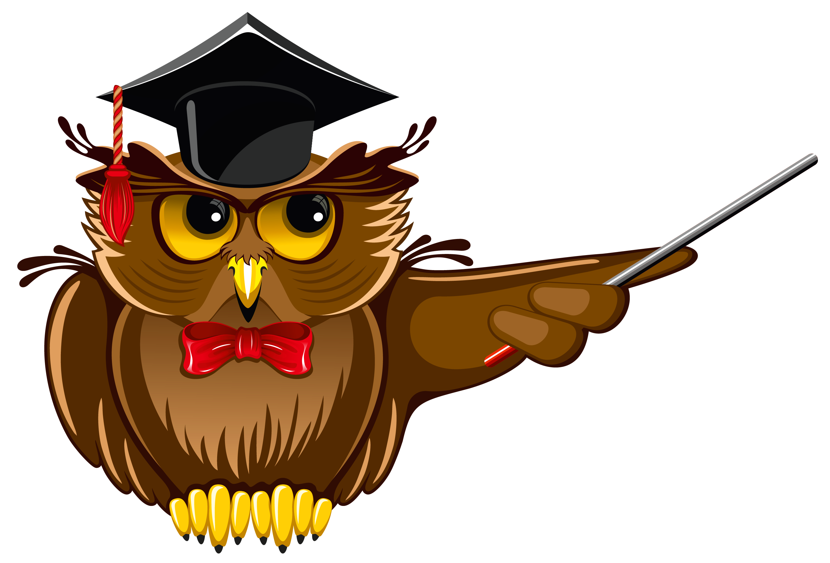 Owl Teacher PNG Clipart.