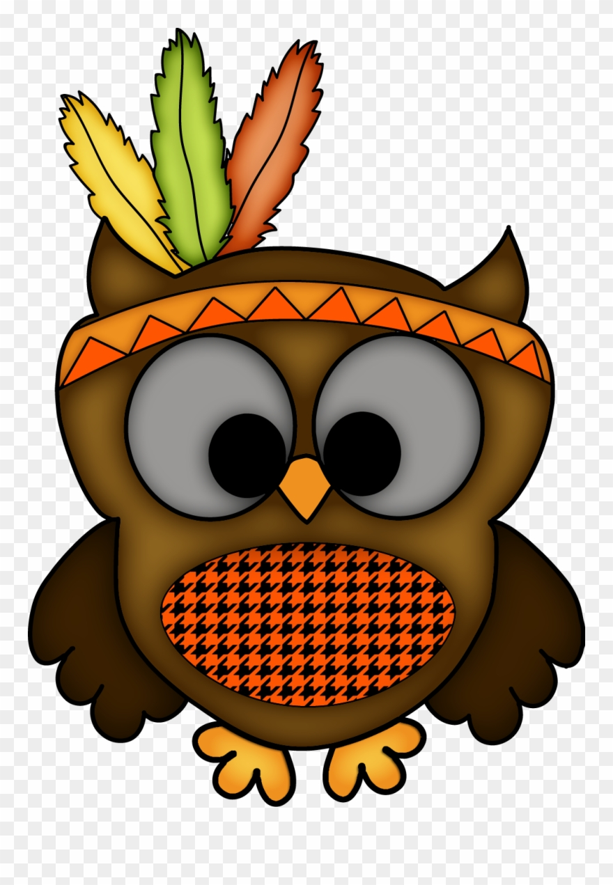 Clipart Owl Thanksgiving.