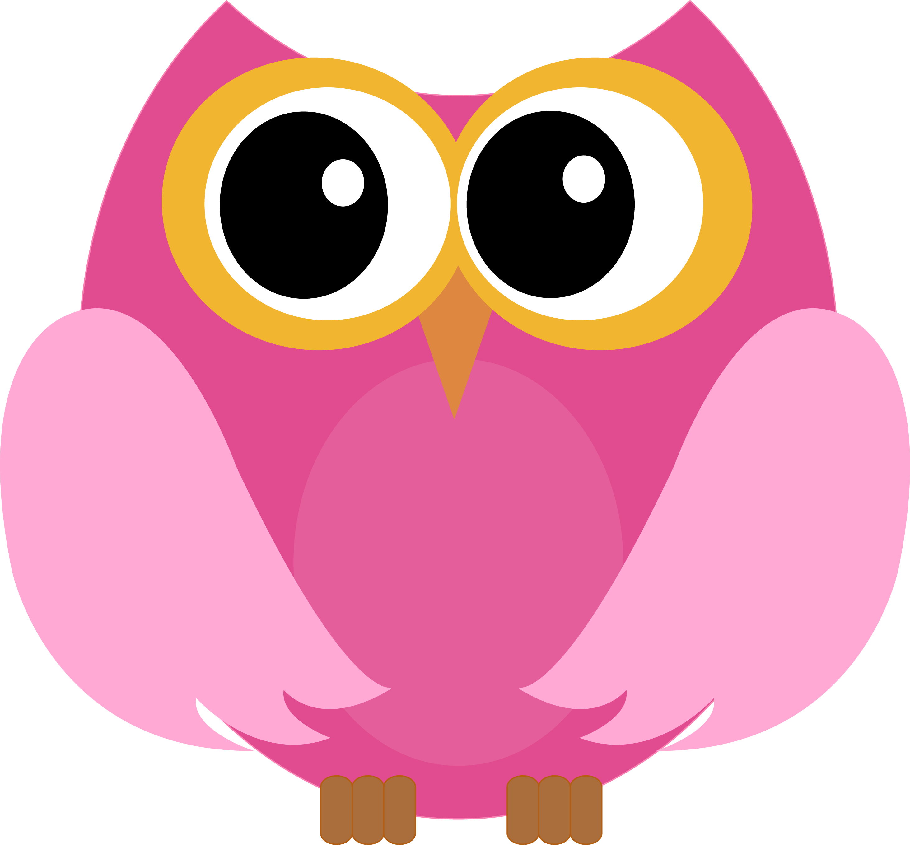 Little Owl Bird Clip art.