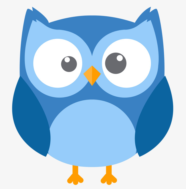 Download Free png Blue Owl Vector, Owl Clipart, Blue, Blue.