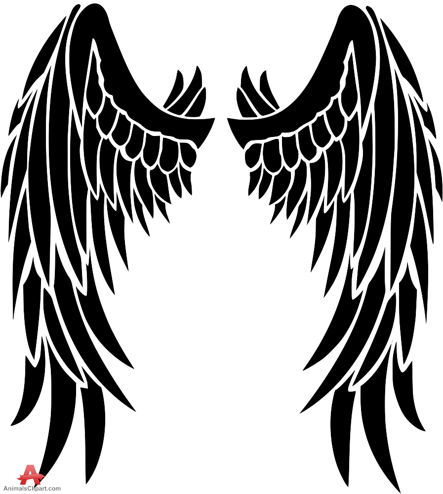 Owl wings clipart.