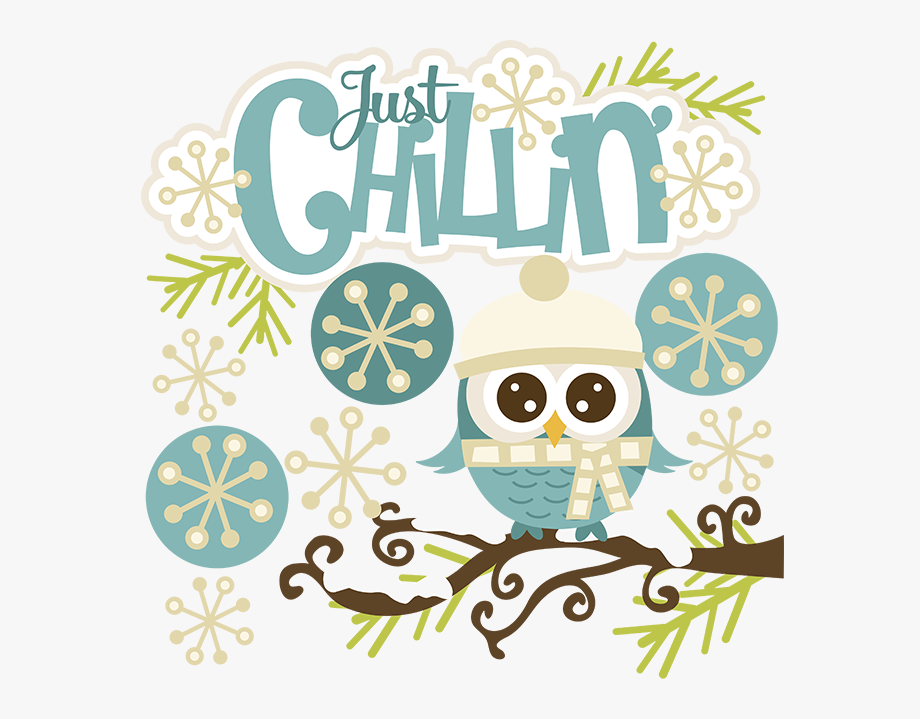 Winter Owl Clipart.