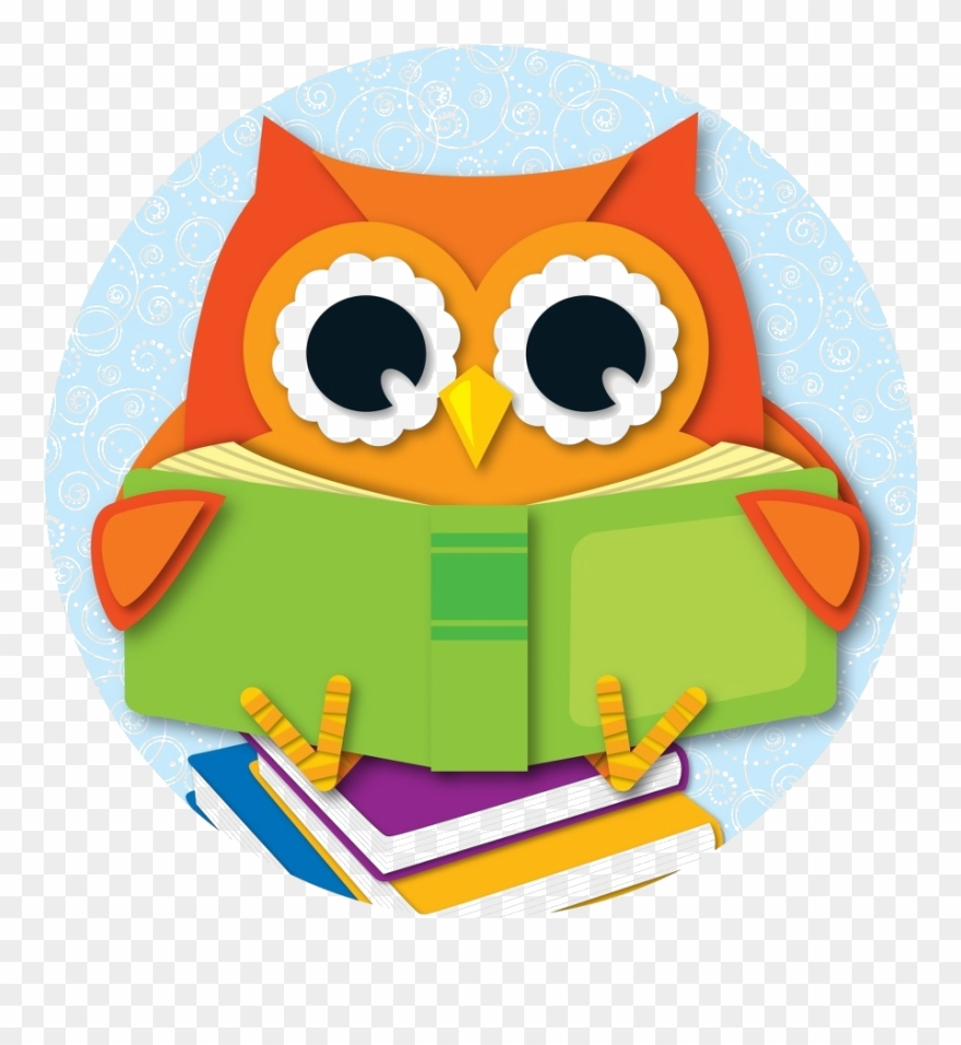 Owl With Book.