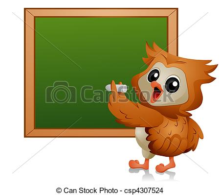 Drawing of Owl Student.