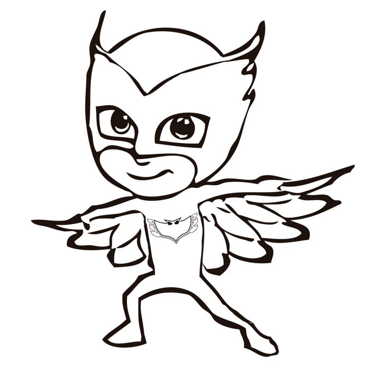 Free Pj Masks Coloring Pages, Download Free Clip Art, Free.