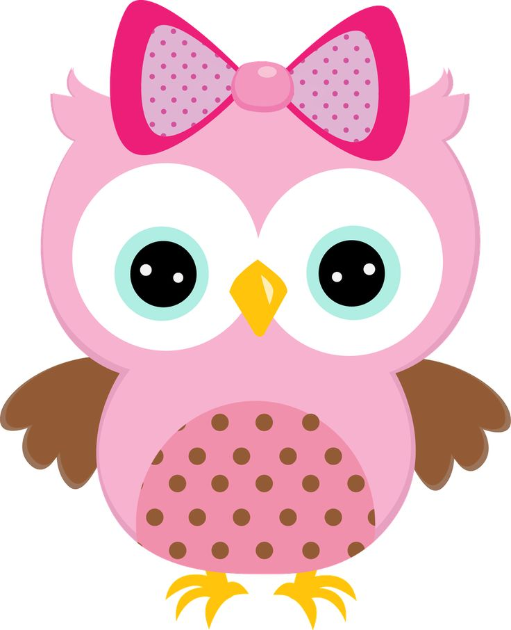 Owls clipart cute.