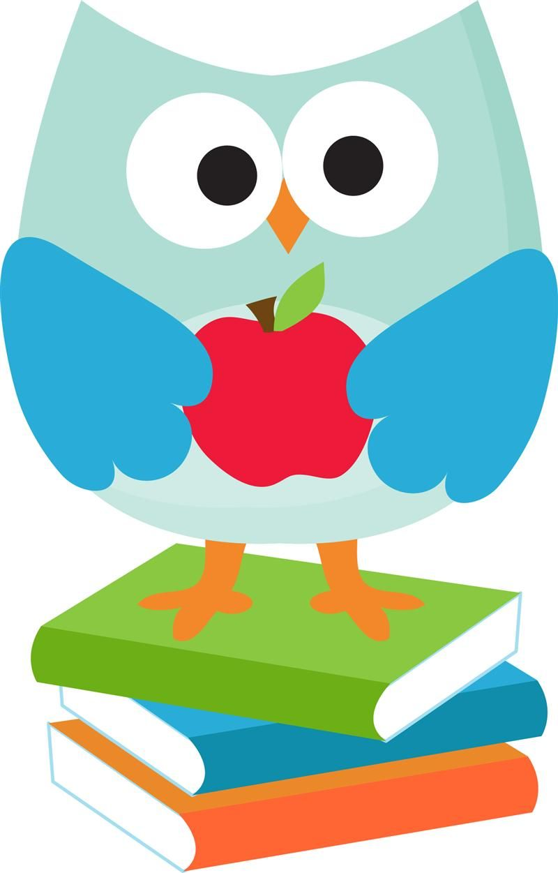 Owl school clipart 5 » Clipart Station.