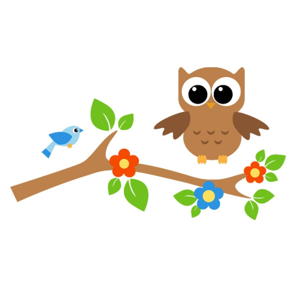Owls In Tree Branch Clipart Clipground