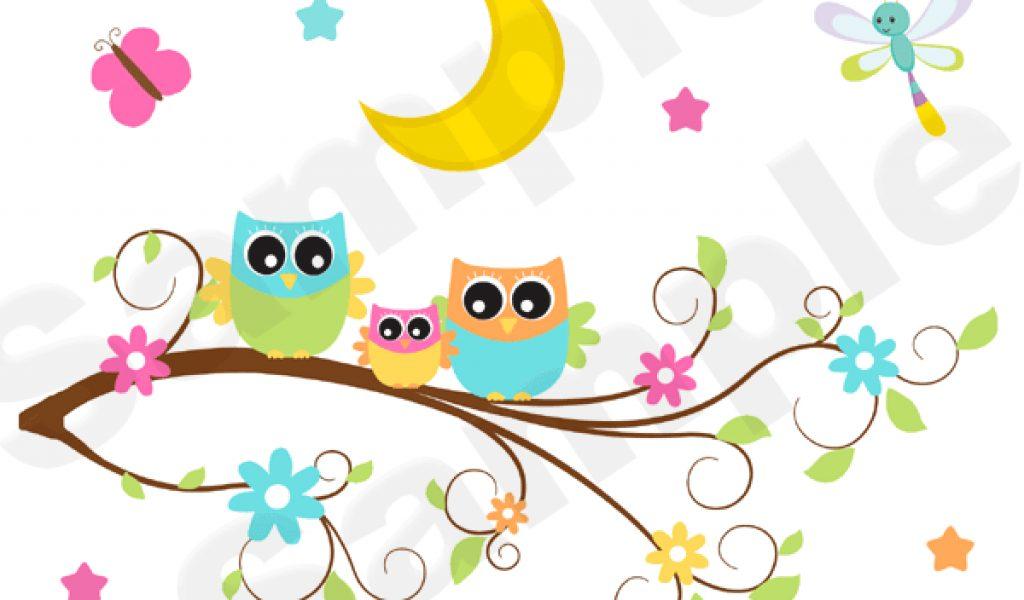 Graduation Owl On Tree Branch Clipart.