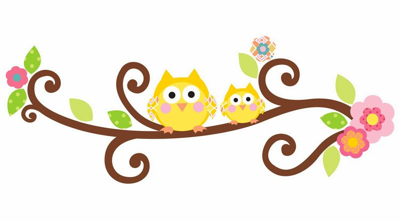 tree branch with owl wall decal.