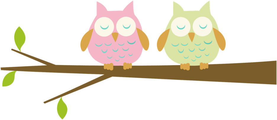 Owl Branch Clip art.