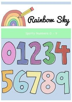 Spotty Numbers 0.
