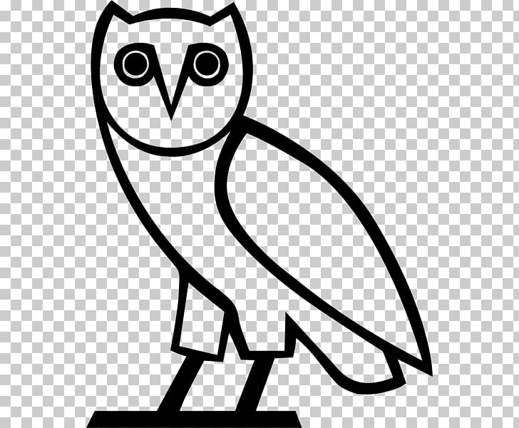 Owl OVO Sound October\'s Very Own Logo, owl PNG clipart.