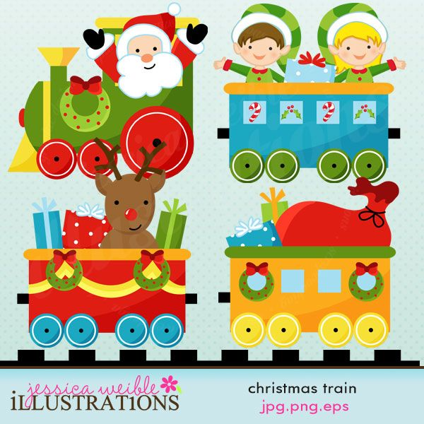 17 Best ideas about Christmas Train on Pinterest.