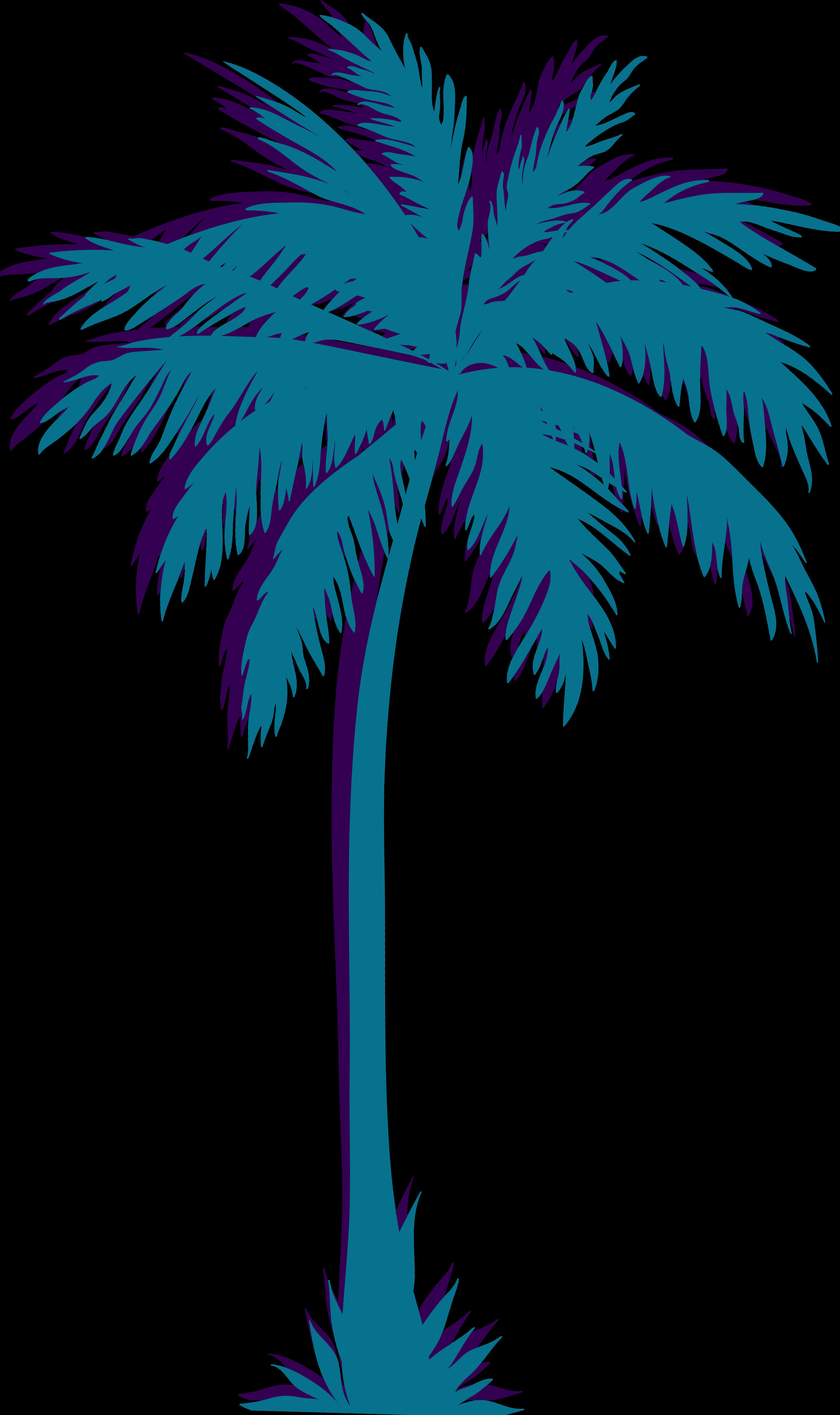 Portable Network Graphics Palm trees Vaporwave Clip art.