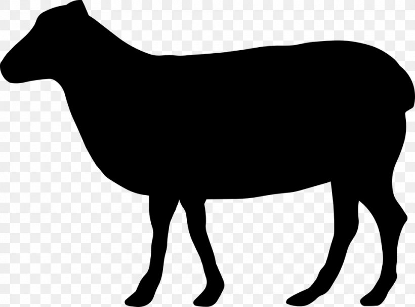 Beef Cattle Silhouette Clip Art, PNG, 960x710px, Beef Cattle.