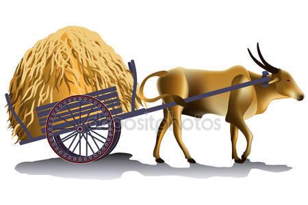 Ox cart Stock Vectors, Royalty Free Ox cart Illustrations.