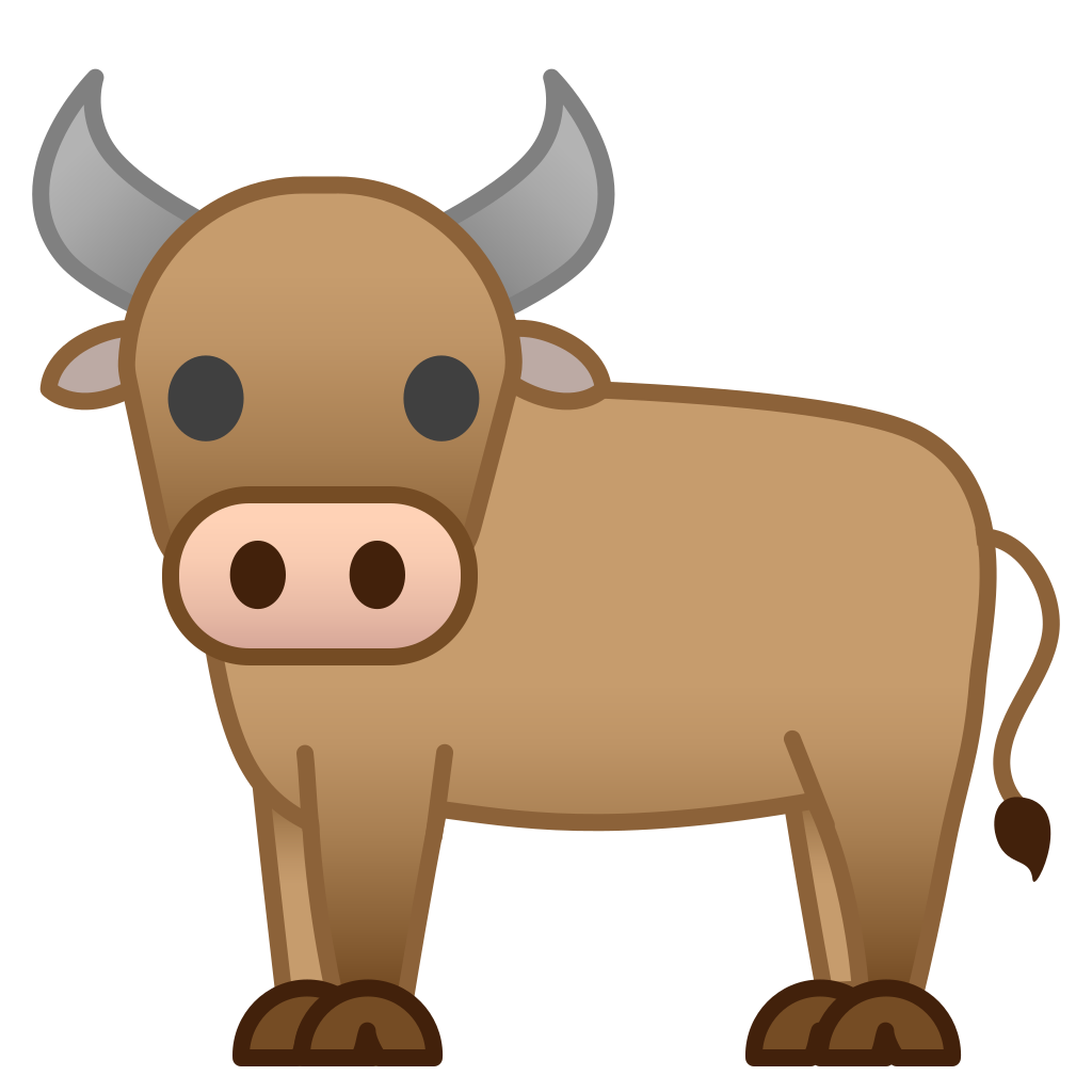 Cartoon,Bovine,Clip art,Snout,Working animal,Illustration.