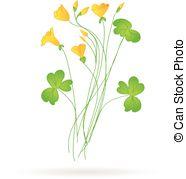 Oxalis Vector Clipart Royalty Free. 11 Oxalis clip art vector EPS.